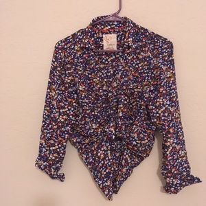 Tops - Anthropologie button up blouse